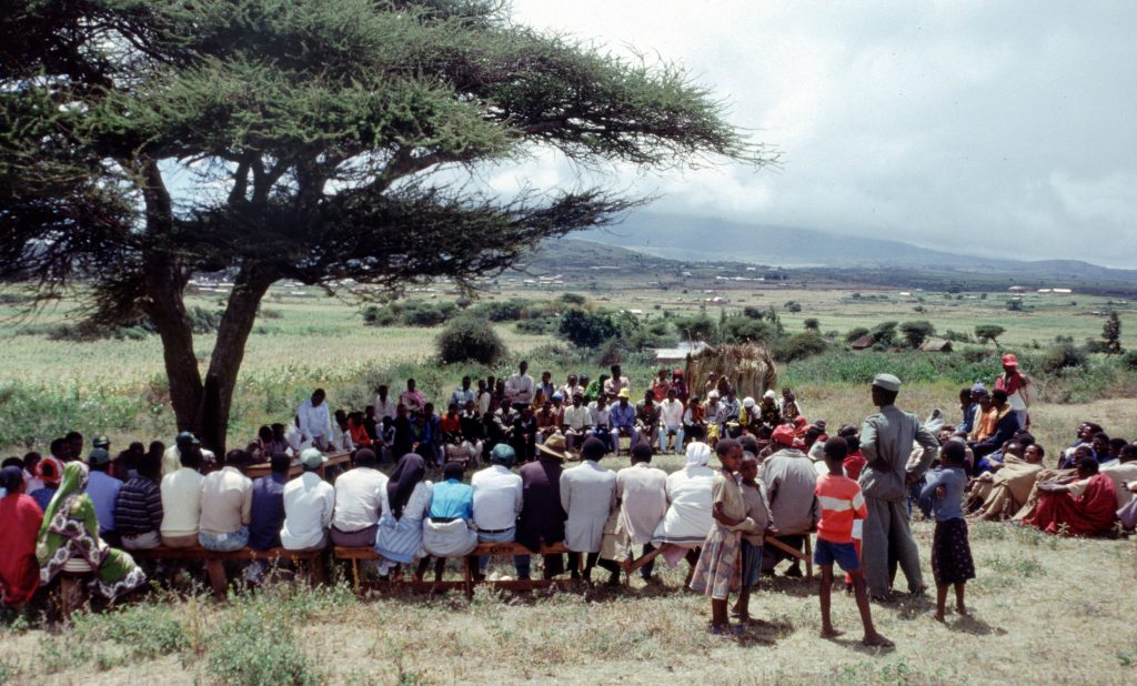 Farmes field day Katesh Tanzania